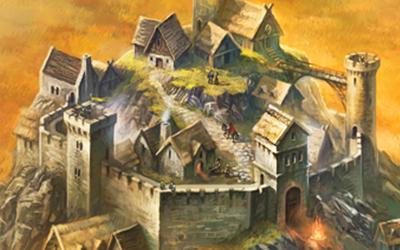 Landkarte: Die Karte von Andor