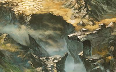 Landkarte: Die Karte des Grauen Gebirges