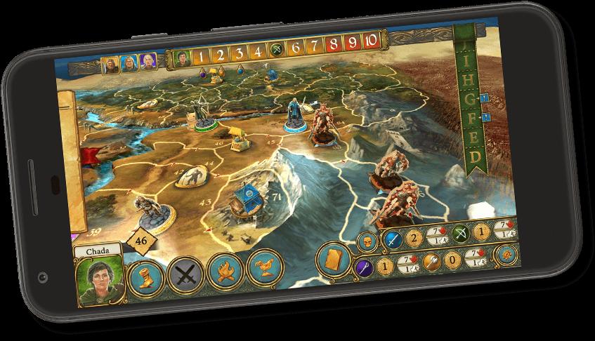 Die Legenden von Andor – Die App