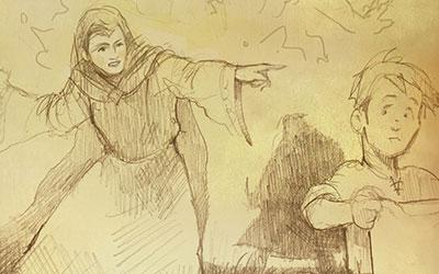 Die Hüterin und die Hexe
