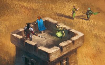 Mini-Erweiterung: Der alte Wehrturm